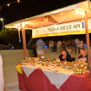 """Le bancarelle con i prodotti tipici allestite da noi a Piombino • <a style=""""font-size:0.8em;"""" href=""""http://www.flickr.com/photos/98039861@N02/9576260354/"""" target=""""_blank"""">View on Flickr</a>"""