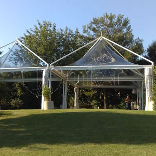 Gazebo pagoda 5x5 Cristal wedding party ricevimenti di nozze
